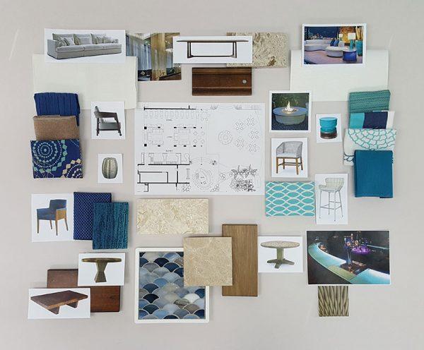 Materials Presentation Board